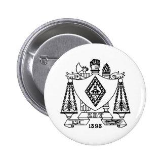 ZBT Crest Pinback Button