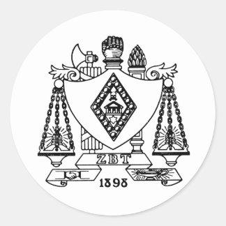 ZBT Crest Stickers