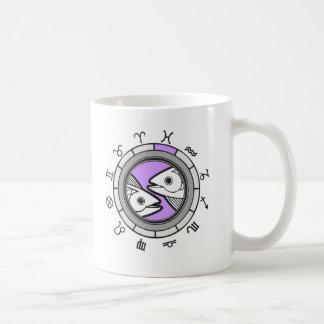 (ZD2m) PISCES Zodiac Mug