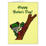 ZD- Happy Father's Day! Frog card