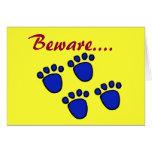 ZD- tarjeta de Bigfoot pascua