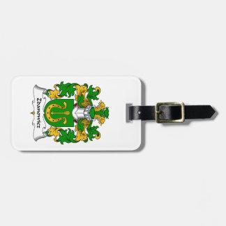 Zdanowicz Family Crest Luggage Tag