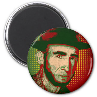 Zé Povinho Grunge 2 Inch Round Magnet