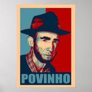 Zé Povinho los E.E.U.U. colorea el poster
