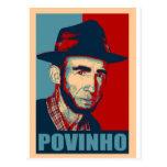 Zé Povinho - US colors Post Card