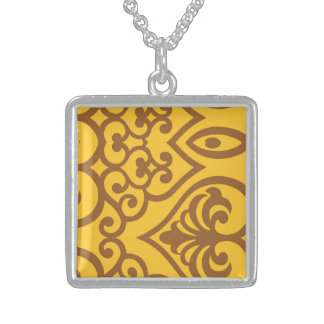 Zeal Honored Progress Hug Square Pendant Necklace