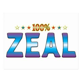 Zeal Star Tag v2 Postcard