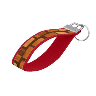 Zeal Zealous Rational Considerate Wrist Keychain