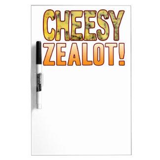 Zealot Blue Cheesy Dry Erase Board