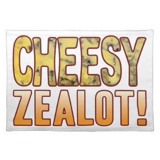 Zealot Blue Cheesy Placemat