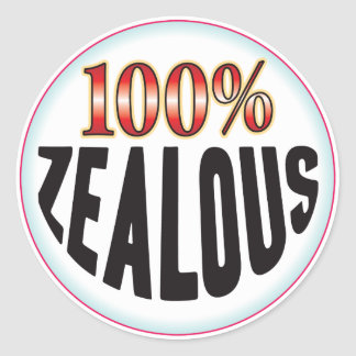 Zealous Tag Classic Round Sticker