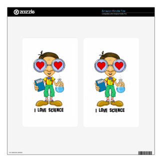 Zebart (I love Science)The Hollyweirdos Collection Kindle Fire Skin