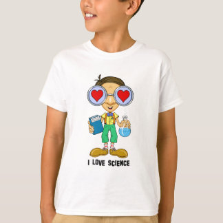 Zebart (I love Science)The Hollyweirdos Collection T-Shirt