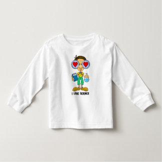 Zebart (I love Science) The Hollyweirdos Toddler T-shirt