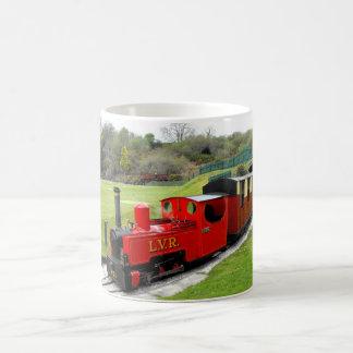 Zebedee steam train coffee mug