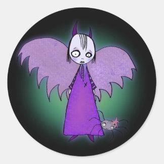 Zebella & The Spider Classic Round Sticker