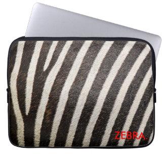 """ZEBRA 13"""" Laptop Sleeve ZebraSkin Design"""