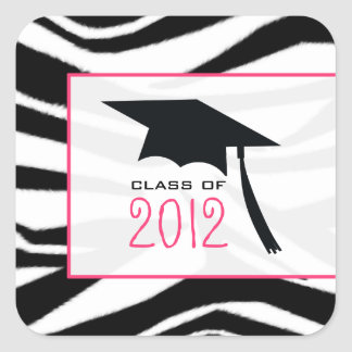 Zebra 2012 Graduation Sticker