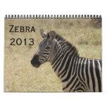 zebra 2013 calendar
