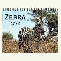 zebra 2019 calendar