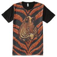 Zebra 2A All-Over Print T-shirt