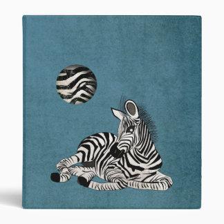 Zebra 3 Ring Binder