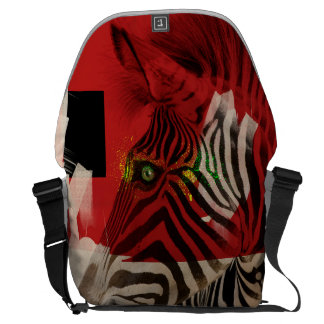 Zebra 4.0 Abstract Courier Bag