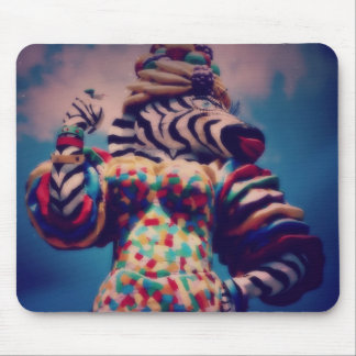 Zebra a Party Animal Mouse Pad