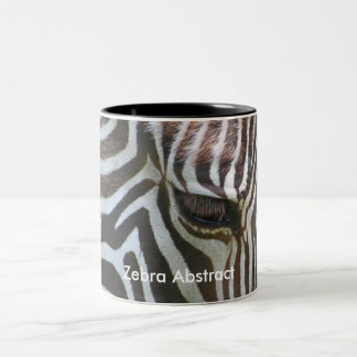 Zebra Abstract Coffee Mugs
