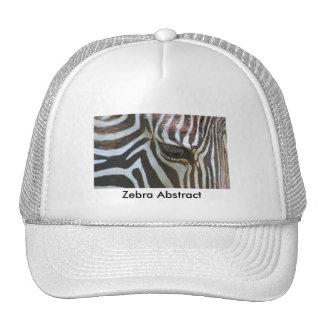 Zebra Abstract Trucker Hat