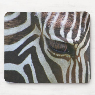 Zebra Abstract Mouse Pad