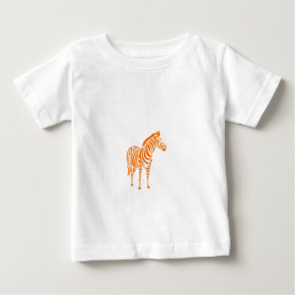 Zebra abstractly colored animals animals love baby T-Shirt