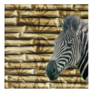Zebra Acrylic Wall Art