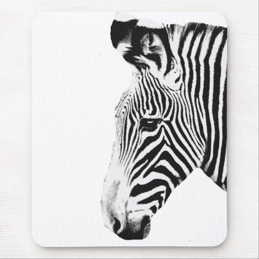 Zebra_ Alfombrillas De Ratón