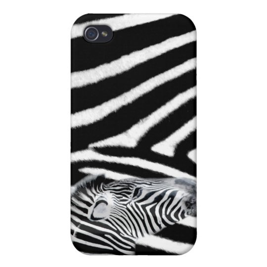 Zebra and it's stripe cases for iPhone 4