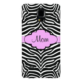 Zebra and Pink Design Galaxy Note 4 Case
