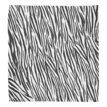 Zebra Animal Print Bandana