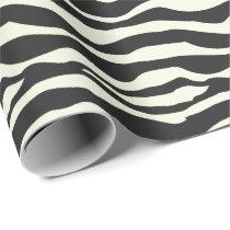 Zebra Animal Print Wrapping Paper