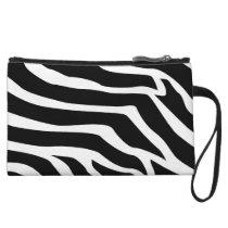 Zebra Animal Print Wristlet Wallet