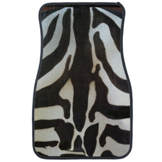 Zebra Animal Print Car Mat