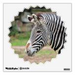 Zebra animal room sticker