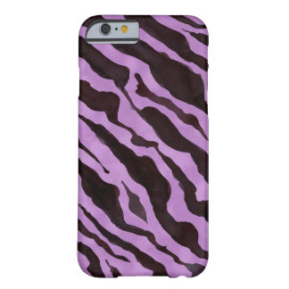 Zebra Animal Skin Pattern Mod Modern Chic Barely There iPhone 6 Case