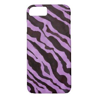 Zebra Animal Skin Pattern Mod Modern Chic iPhone 8/7 Case
