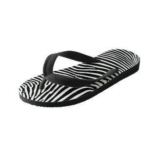 Zebra Animalprint Kid's Flip Flops