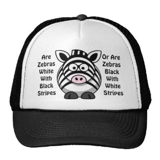 Zebra Art Trucker Hat