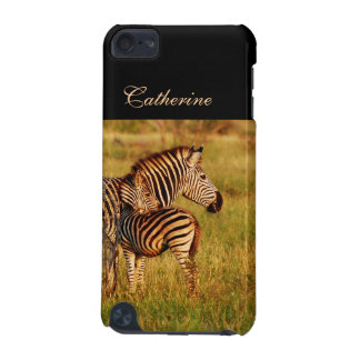 Zebra baby n mother iPod touch 5G cases