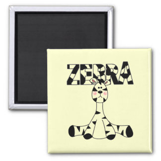Zebra Baby Tshirts and Gifts Magnet