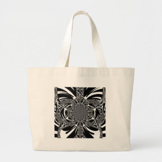 Zebra Jumbo Tote Bag