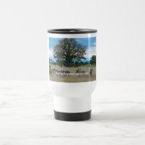 Zebra & Baobab Tree Travel Mug