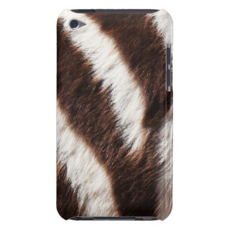 Zebra  barely there iPod cover